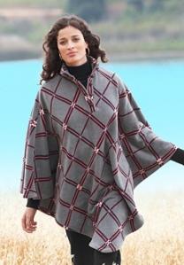fleece cape