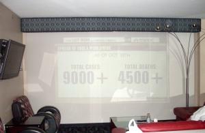 big screen living