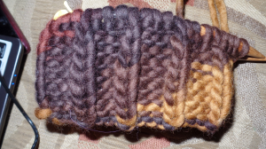 ribbed cowl
