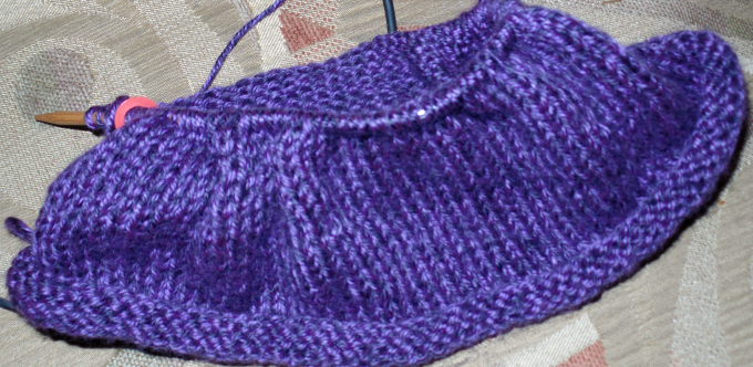 cowl - 35% done