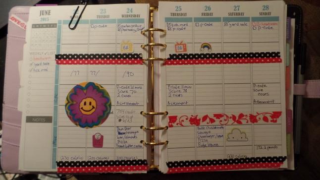 planner this week